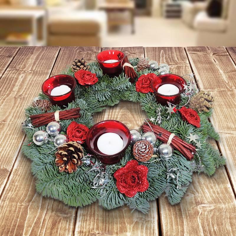 adventskranz-rot-silber-glamour