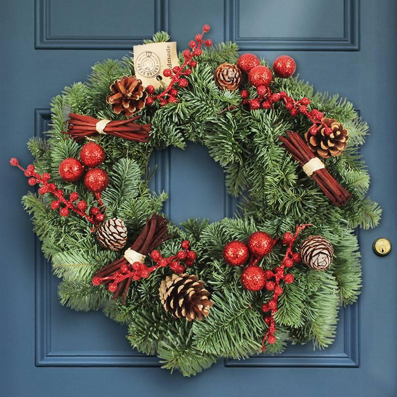 weihnachtskranz-roter-glanz